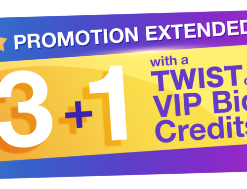 3 plus 1 Special Promotion  with a Twist Extended
