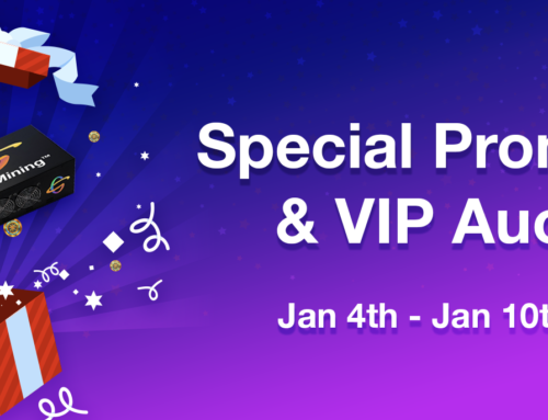 January 2019 Special Promotion and VIP Auction