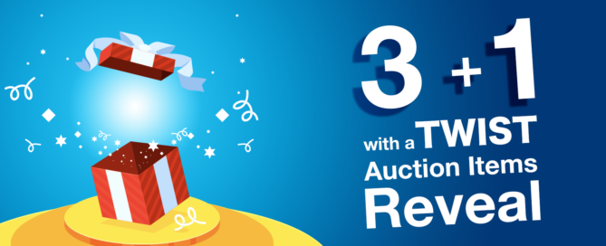 3Plus1_with_a_Twist_VIP Auction_Items_Reveal