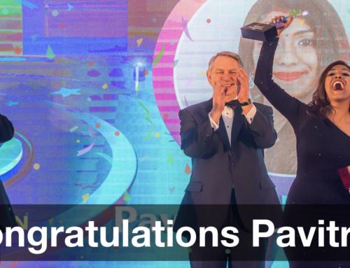 Congratulations Pavitra!