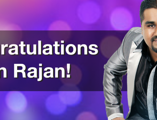 Congratulations Edwin!