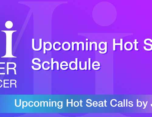 Upcoming Hot Seat Coaching calls Schedule