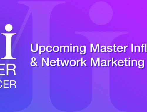 Upcoming Master Influencer and Network Marketing Webinars